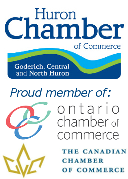 Logo of the Huron Chamber of Commerce