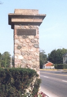 Goderich Entrance Pillars