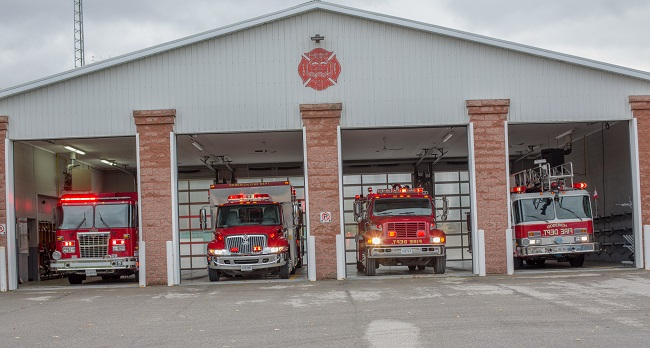 Goderich Fire Hall located at 248 Suncoast Drive East, Goderich